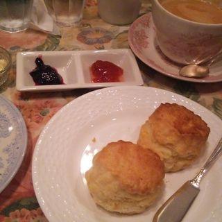cream tea set(ティーハウス サラ (Tea House SARAH))