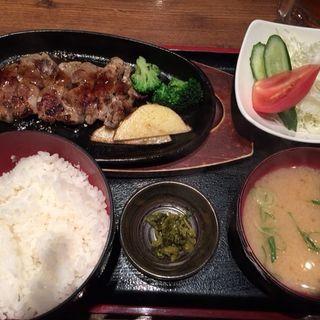 トンテキ定食(豚の晴れぶたい 天王寺店 (ぶたのはれぶたい))