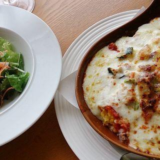 国産鶏挽肉と三浦野菜のドリア(ランチ)(Amalfi NOVELLO)
