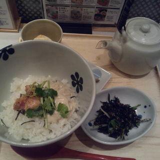 生湯葉と炙り明太子のだし茶漬け(だし茶漬け えん 有楽町イトシア店 )