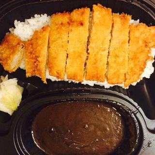 手仕込みカツカレー(ハラペコカレー 龍大前店 (harapeko curry))