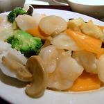 海鮮八宝菜のランチセット