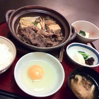 すき焼膳(たか福 羽田空港国際線ターミナル店 )