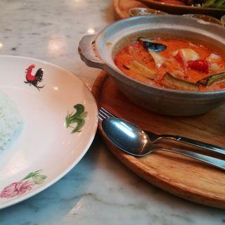 海老カレー飯(シンガポール海南鶏飯 汐留店 )