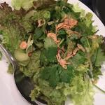 グリーンサラダ パクチードレッシング