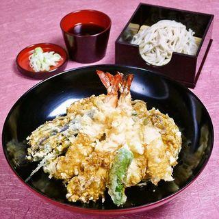 たまげた天丼と会津蕎麦 (銀座捨松)