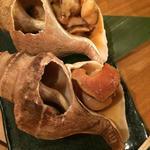 ツブ貝の炙り