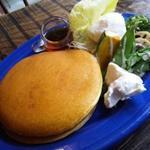 季節の温野菜シーザーサラダ&ポーチドエッグ