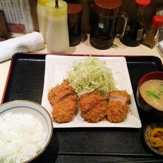 ひれかつ定食(にし邑 )
