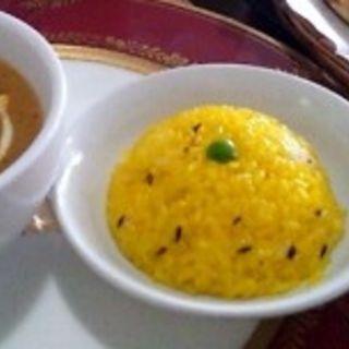 Aランチ チキンカレー(多国籍料理 ハートランドカフェ バンブー )