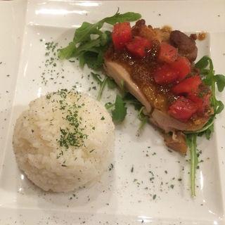 鶏もも肉のローストショウガソース(レガーメ 赤坂 )