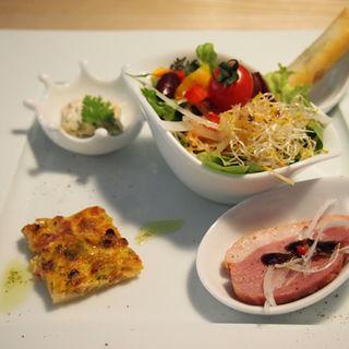 ランチセット(前菜盛り合わせ)(コテ カフェ (Cote Cafe))