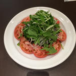 トマト野菜サラダ(北山 洋食カフェ 和蘭芹 (パセリ))