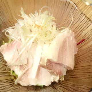 蒸豚盛り合わせ(豚工房 どんぐり )