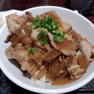 肉豆腐丼(うたがき)