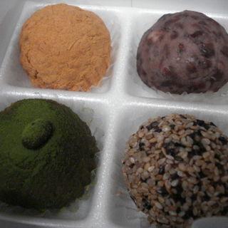一番抹茶黒豆もち入りセット(森のお菓子 )