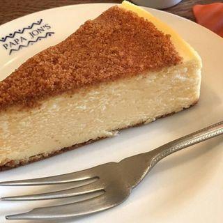 ニューヨークチーズケーキセット(パパジョンズイータリー)