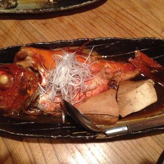 金目鯛の煮付け(目黒川魚金 )