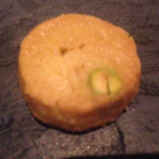 ピスタチオのクッキー(アンティカ・オステリア・デル・ポンテ )