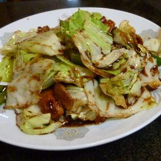 回鍋肉定食(萬楽飯店 (マンラクハンテン))