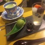 あんみつと抹茶アイス(先斗入ル 京都駅ビル店 (ポントイル))