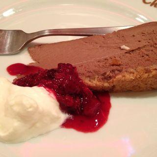 チョコレートチーズケーキ(TBCダイナー)