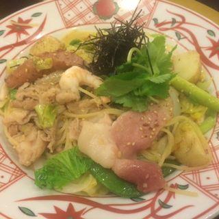 京のもち豚と春野菜の 具だくさん醤油バター(先斗入ル 京都駅ビル店 (ポントイル))