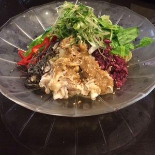 豚しゃぶと京野菜の冷製サラダスパゲッティ(先斗入ル 京都駅ビル店 (ポントイル))