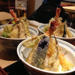 海老天空丼(漁亭浜や エスパル店 (浜や))