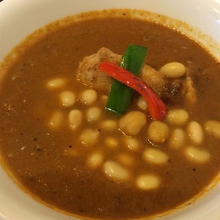 チキン 大豆トッピング(curry草枕)