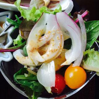 自家製ナッツのサラダ(井中 (イチュウ))