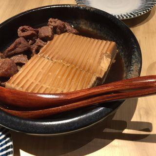 よしたろうの煮込み肉豆腐(かき鐵 (カキテツ))