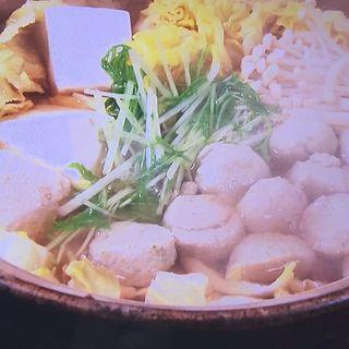 本マグロつみれのネギマ鍋(酒肴菜や 利一 )