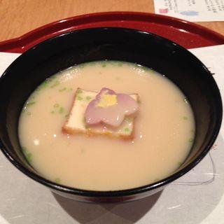 京の白味噌椀 (鴨川)(美濃吉 阪急四条河原町店 (みのきち))