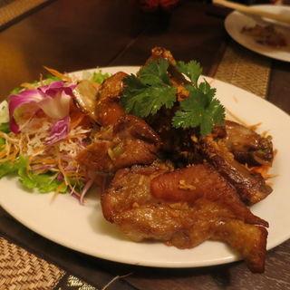 鶏のスペアリブガーリック(ジャスミン タイ コレド室町店 (JASMINE THAI))