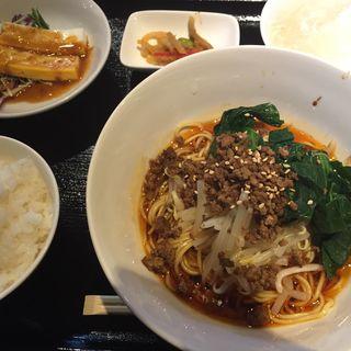 成都担々麺セット(遙華 (ハルカ))