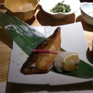 鯖の西京焼き定食(えん 横浜ジョイナス店 )