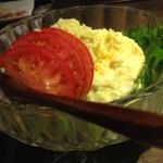 バジル風味のポテトサラダ