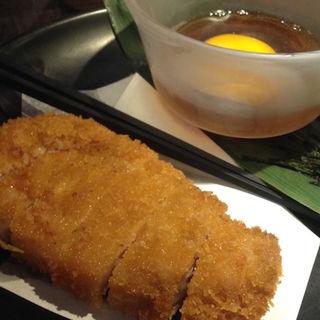 芳寿豚のロースとんかつ(地酒蔵大阪 )