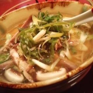 ねぎチャーチューの汁そば(ライオン飯店 (【旧店名】中国菜譜 ライオンキング))