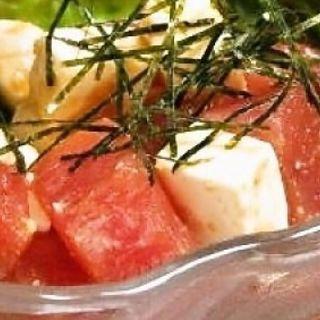マグロとクリームチーズのわさび醤油和え(居酒屋バー COMFY (居酒屋バー・コンフィー))