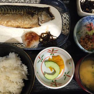 焼魚定食(さがみ  新有楽町ビル店)