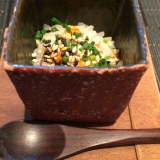 雲丹と尾崎牛の一口焼きご飯(Restaurant MAEKAWA (レストラン マエカワ))