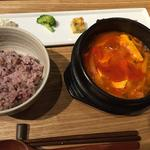 スン豆腐チゲ(restaurant OSURI)
