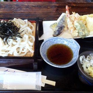 天ざるうどん(野州茶屋)