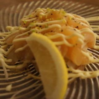 ホタテのカルパッチョ(arbor's cafe)