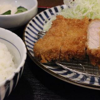 ランチ ロースかつ定食(とんかつ 田 西葛西店 (でん))