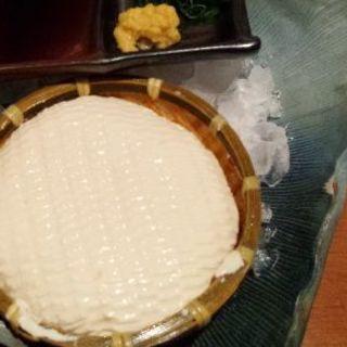 毎日自家製ざる豆腐(月の都 )