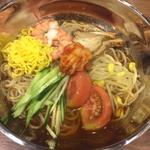 韓国冷麺(天山の湯 だいにんぐ (てんざんのゆ))