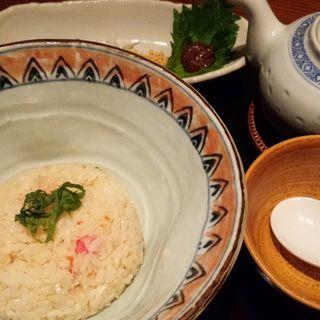 チャーハンdeスープ茶漬け(草木万里野 上尾店 (くさきまりの))